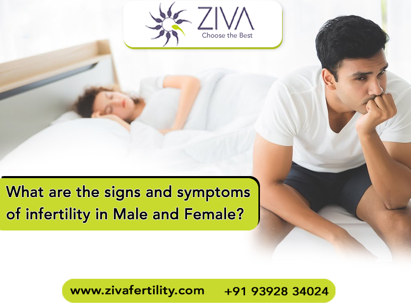 What Are The Signs And Symptoms Of Infertility In Male And Females?