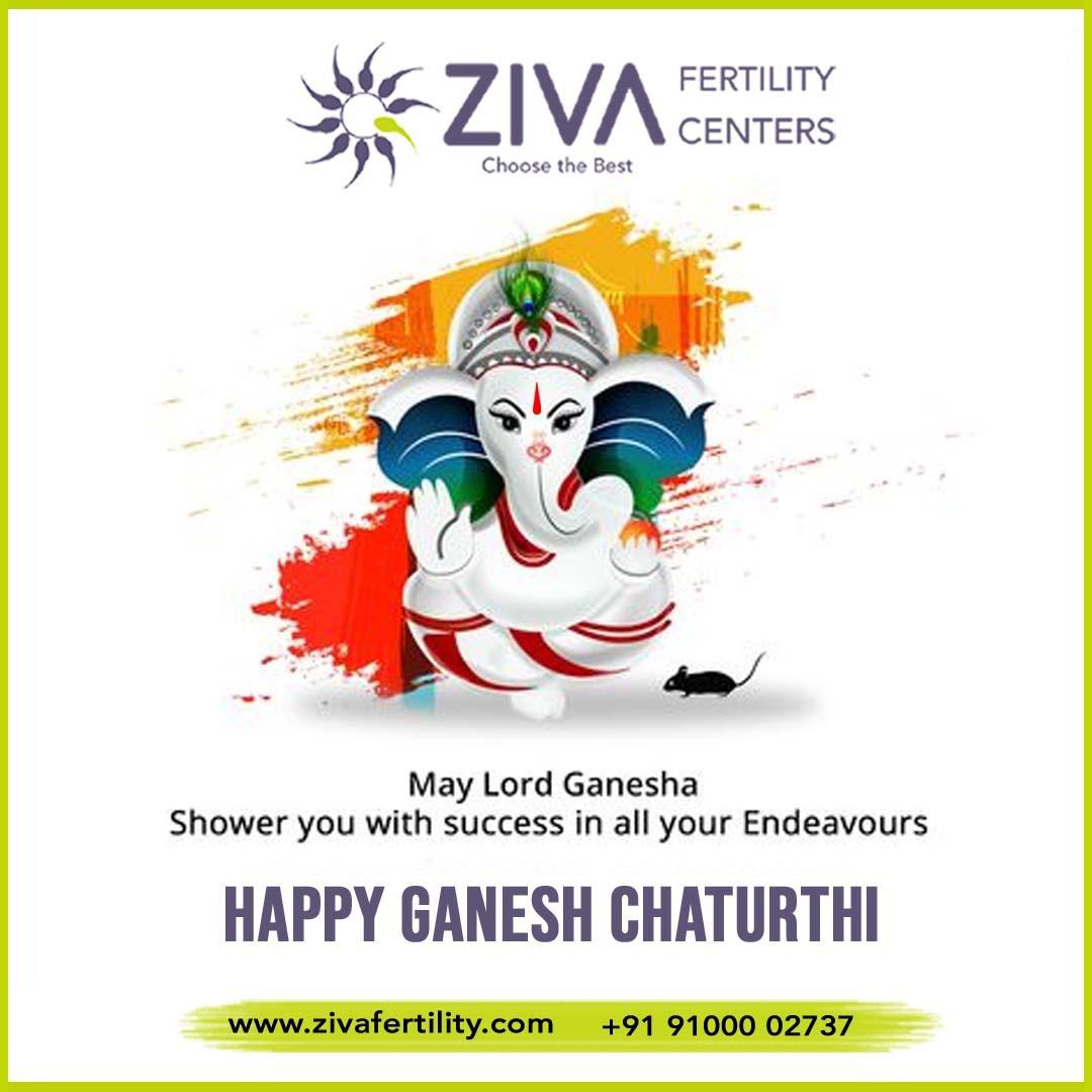 We wish you a happy & prosperous Ganesh Chathurthi – Ziva Fertility